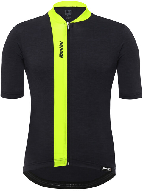 Santini Origine Bike Jersey Shortsleeve Men yellow/black